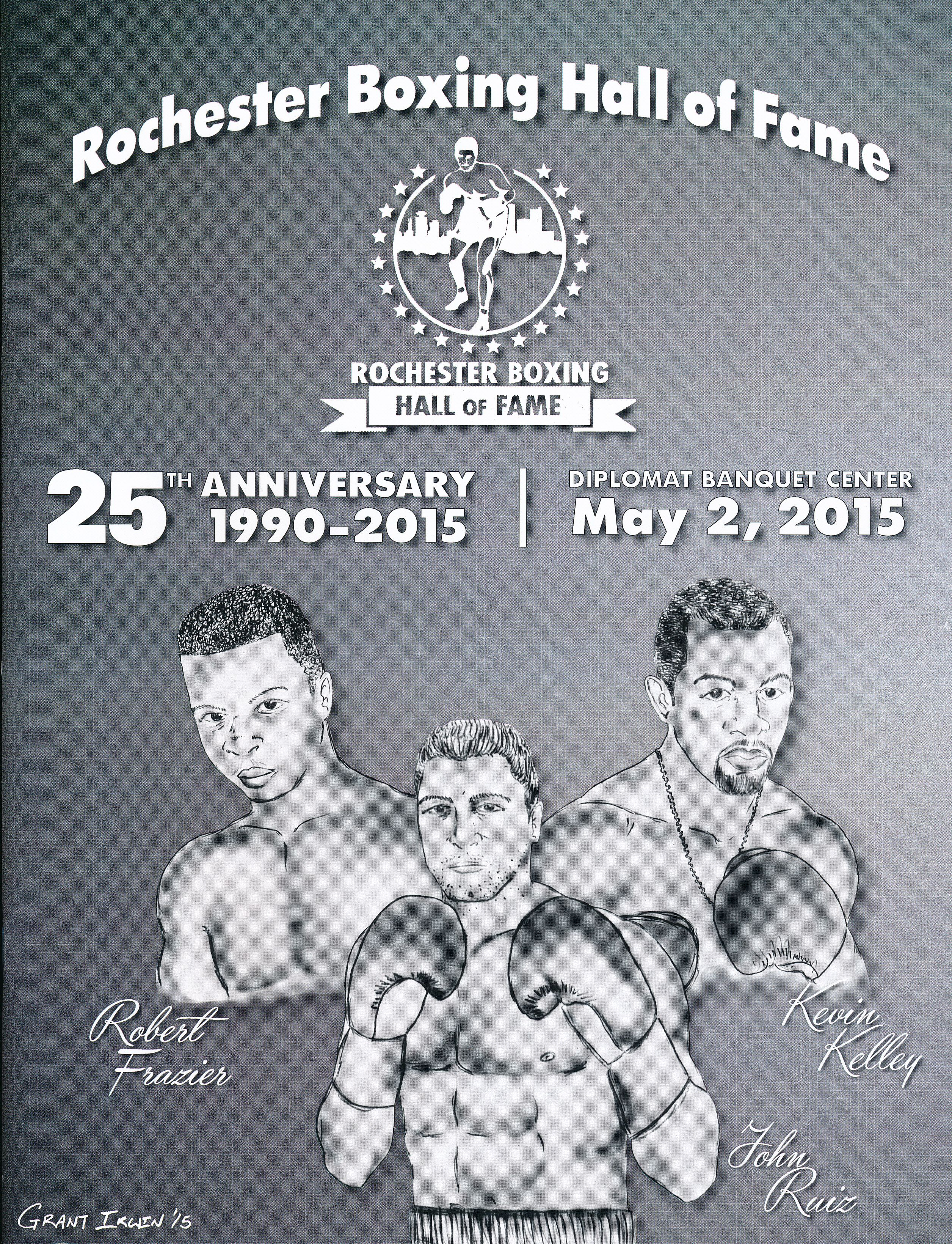 Rochester Boxing Hall of Banquet, May 2, 2015