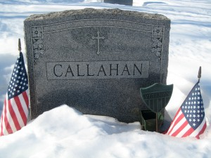 Andy Callahan Grave Site (Christine Lewis)