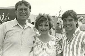 US Senator Pete Domenici, Louie's mother Elba, Louie 1984